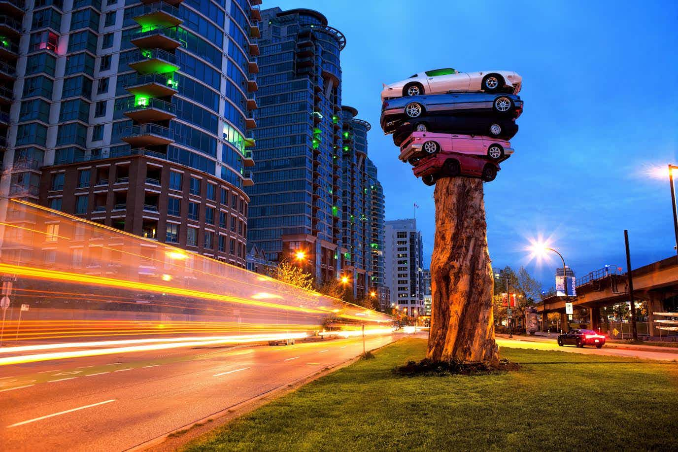 Vancouver's Trans Am Totem art installation may soon need a new parking spot