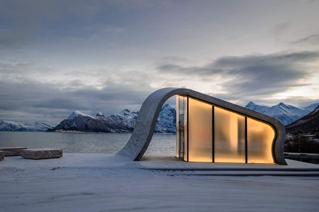 Has Norway just unveiled the most beautiful public toilet the world has ever seen?