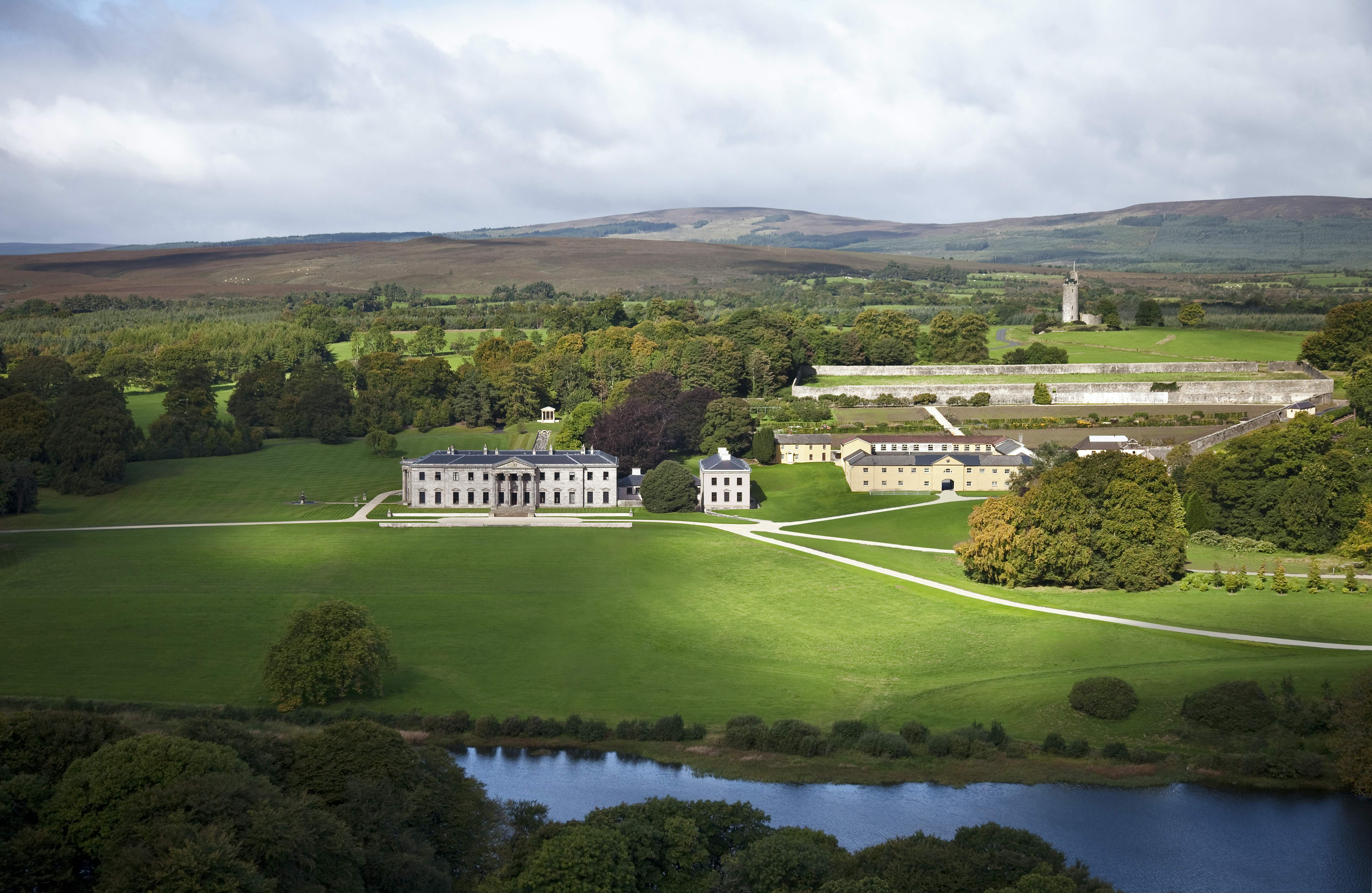 A former boarding school where Kim and Kanye honeymooned is named the best hotel in Ireland