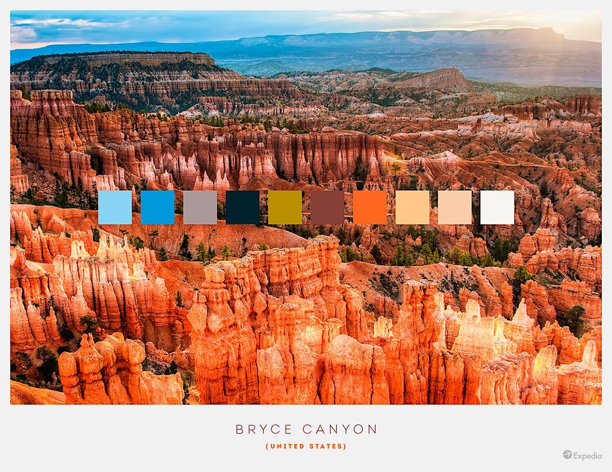 Bryce Canyon, USA.