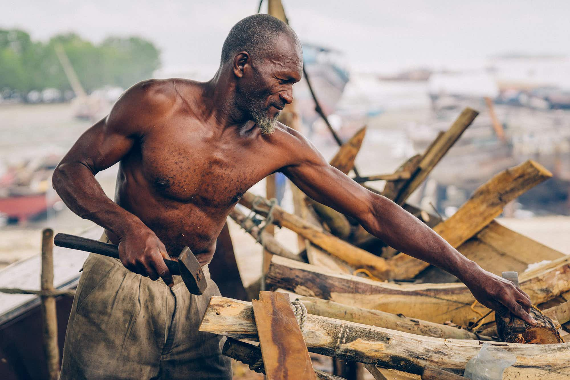 Meet the traditional wooden boat-builders of Zanzibar
