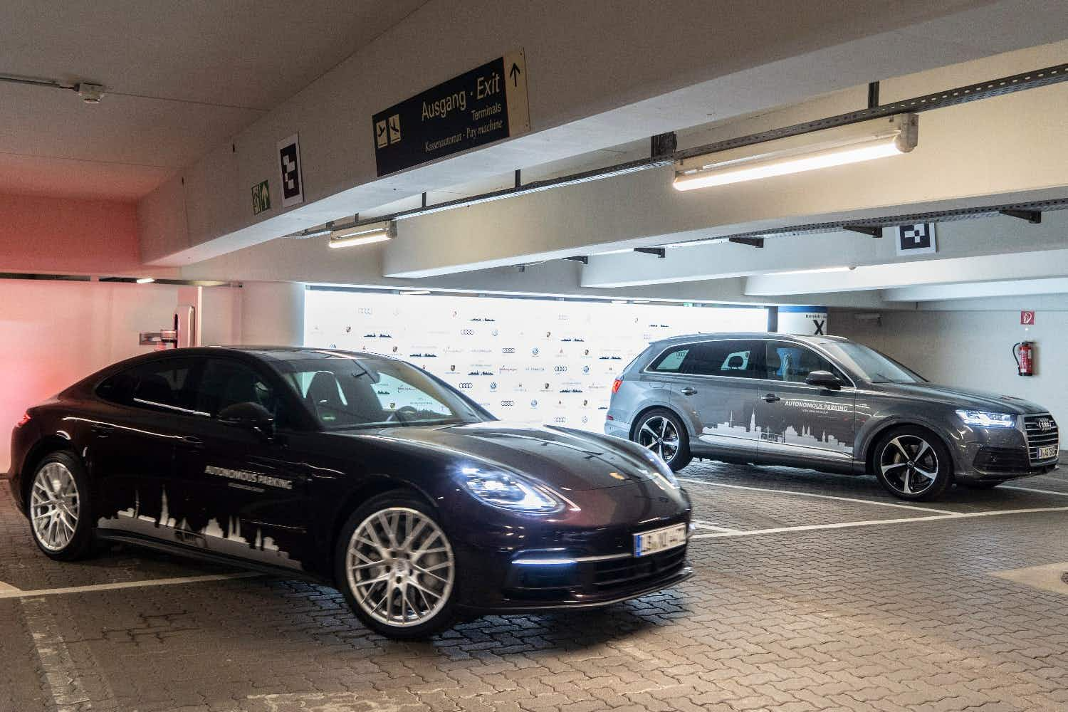 Autonomous parking at Hamburg Airport aims to take the stress out of finding a space