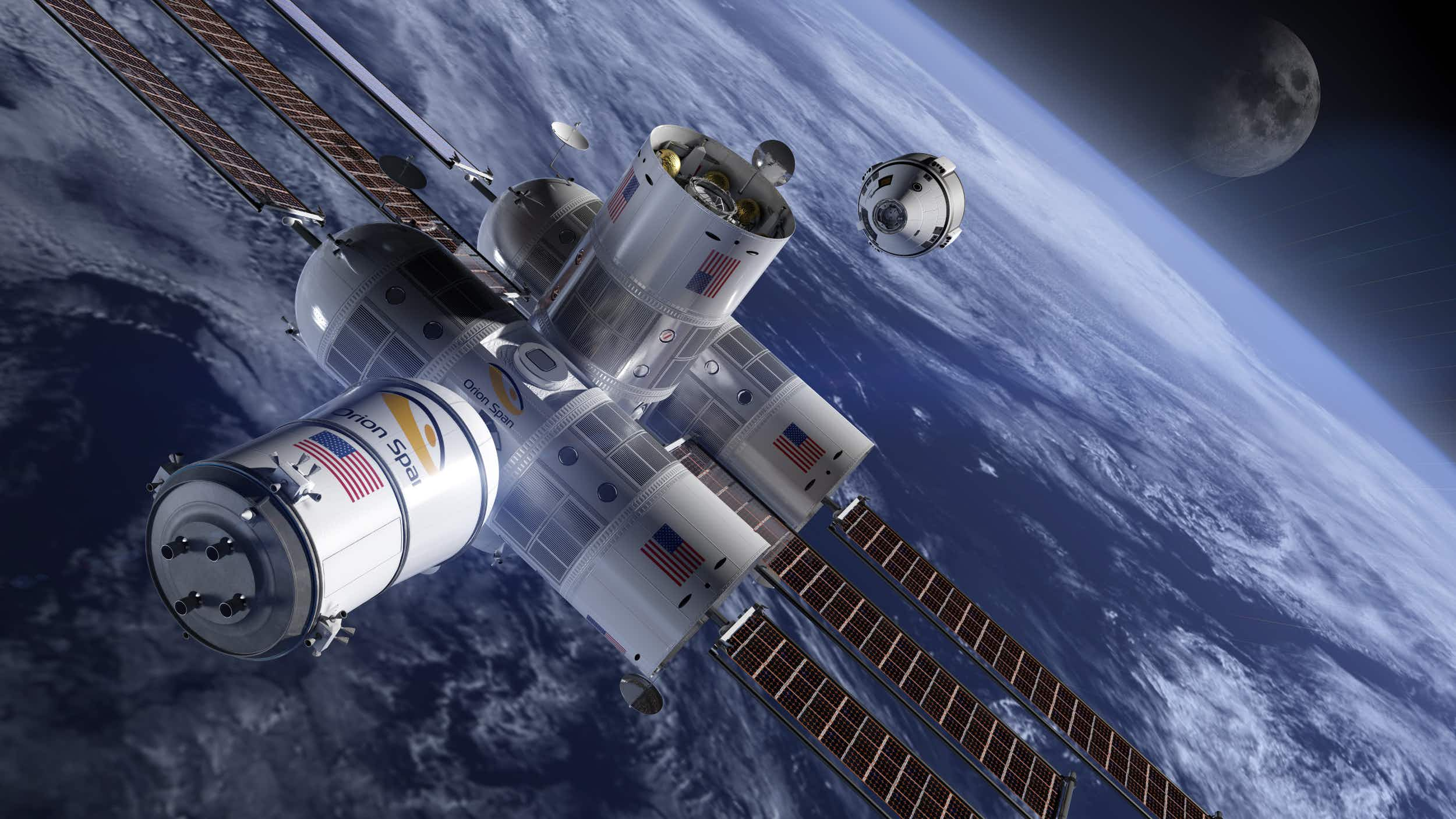 The first ever luxury space hotel Aurora Station is taking bookings for 2022