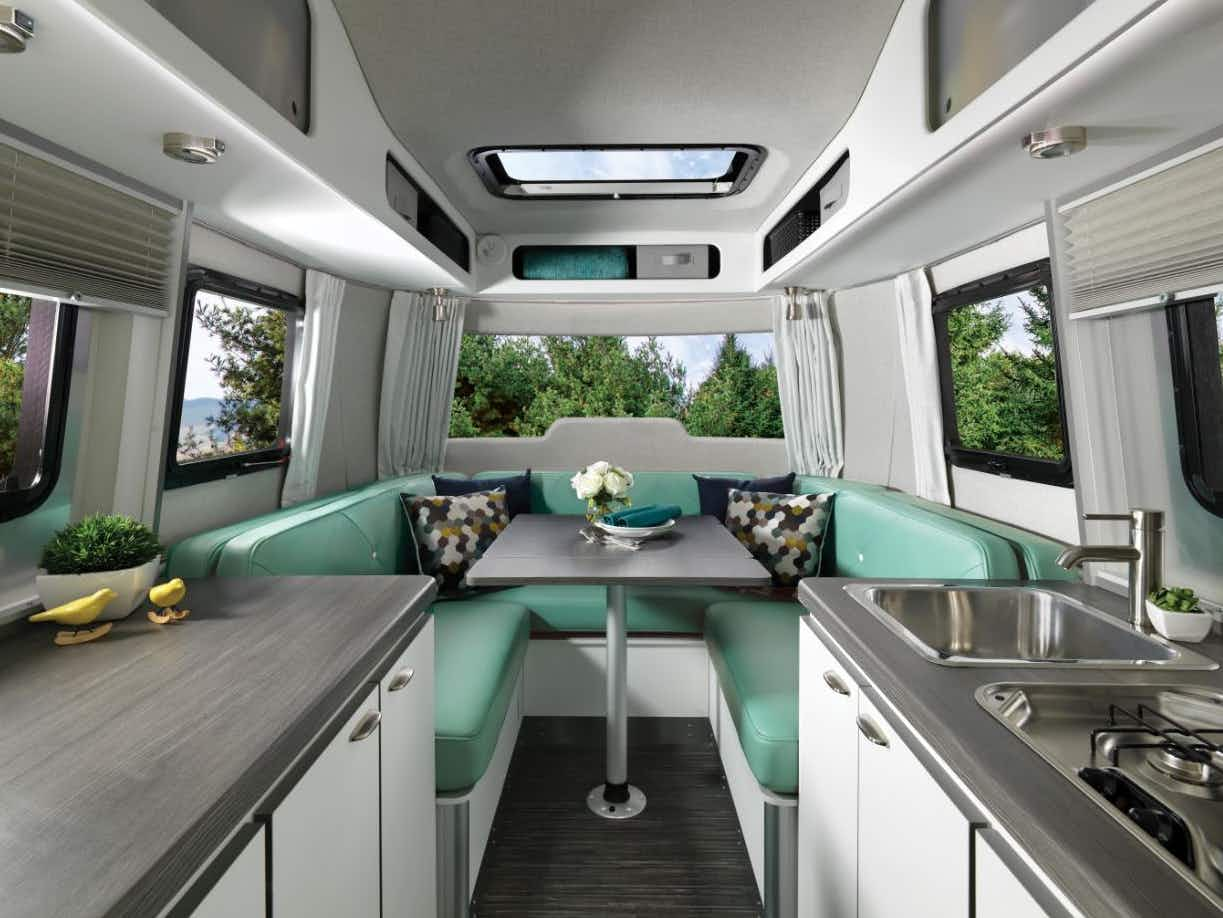 The latest Airstream trailer is new – but not so shiny