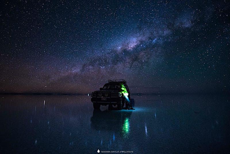 Bolivia's salt flats really feel like a galaxy far, far away