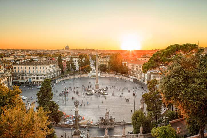 Rome's Piazza del Popolo to be transformed into tennis court for Italian Open