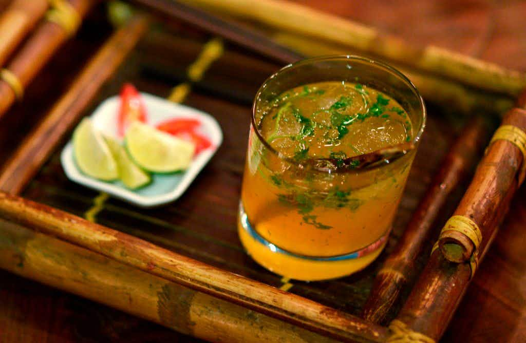 This cocktail inspired by beef noodle soup is a hit in Vietnam