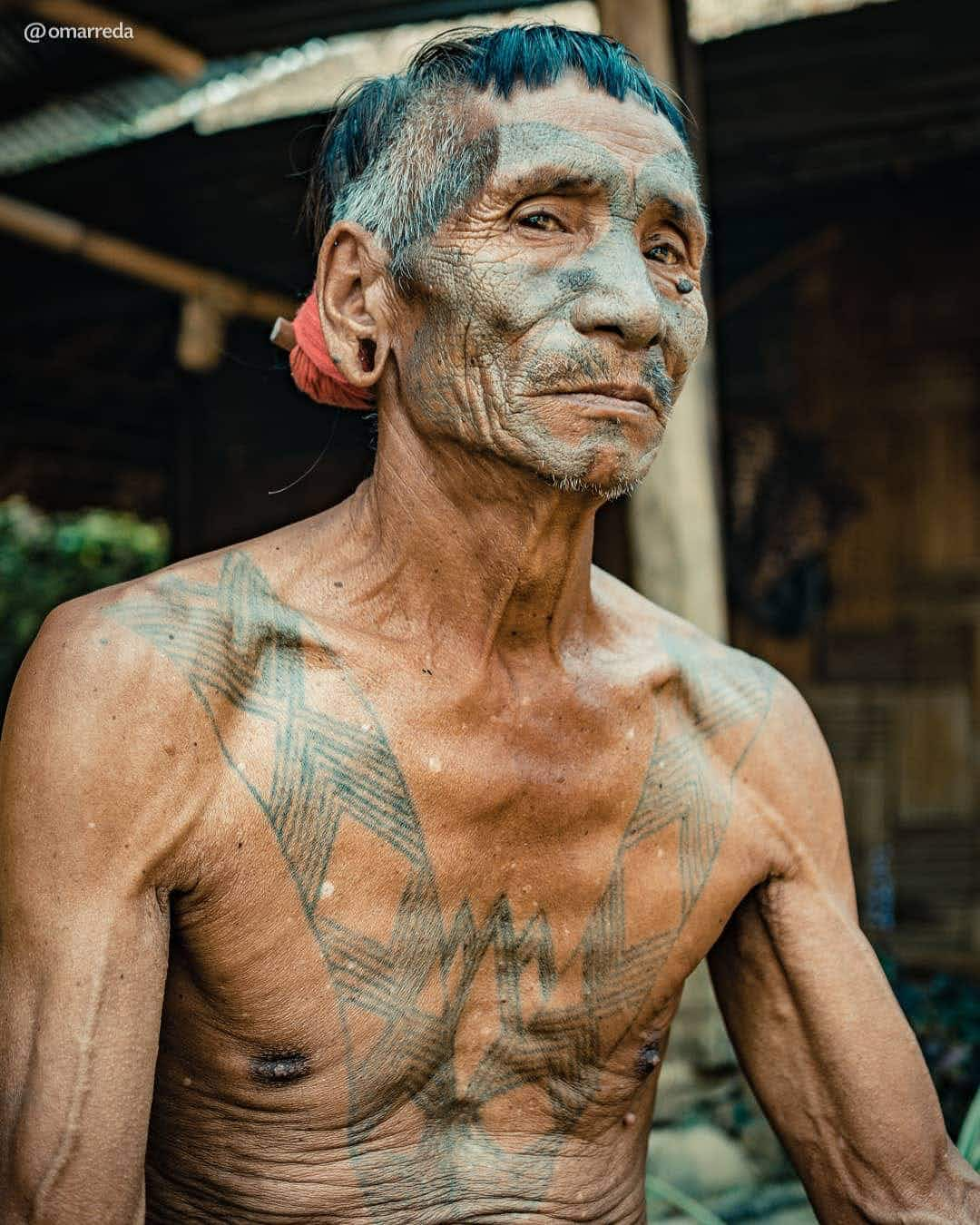 These are the last head-hunters of India's Konyak tribe