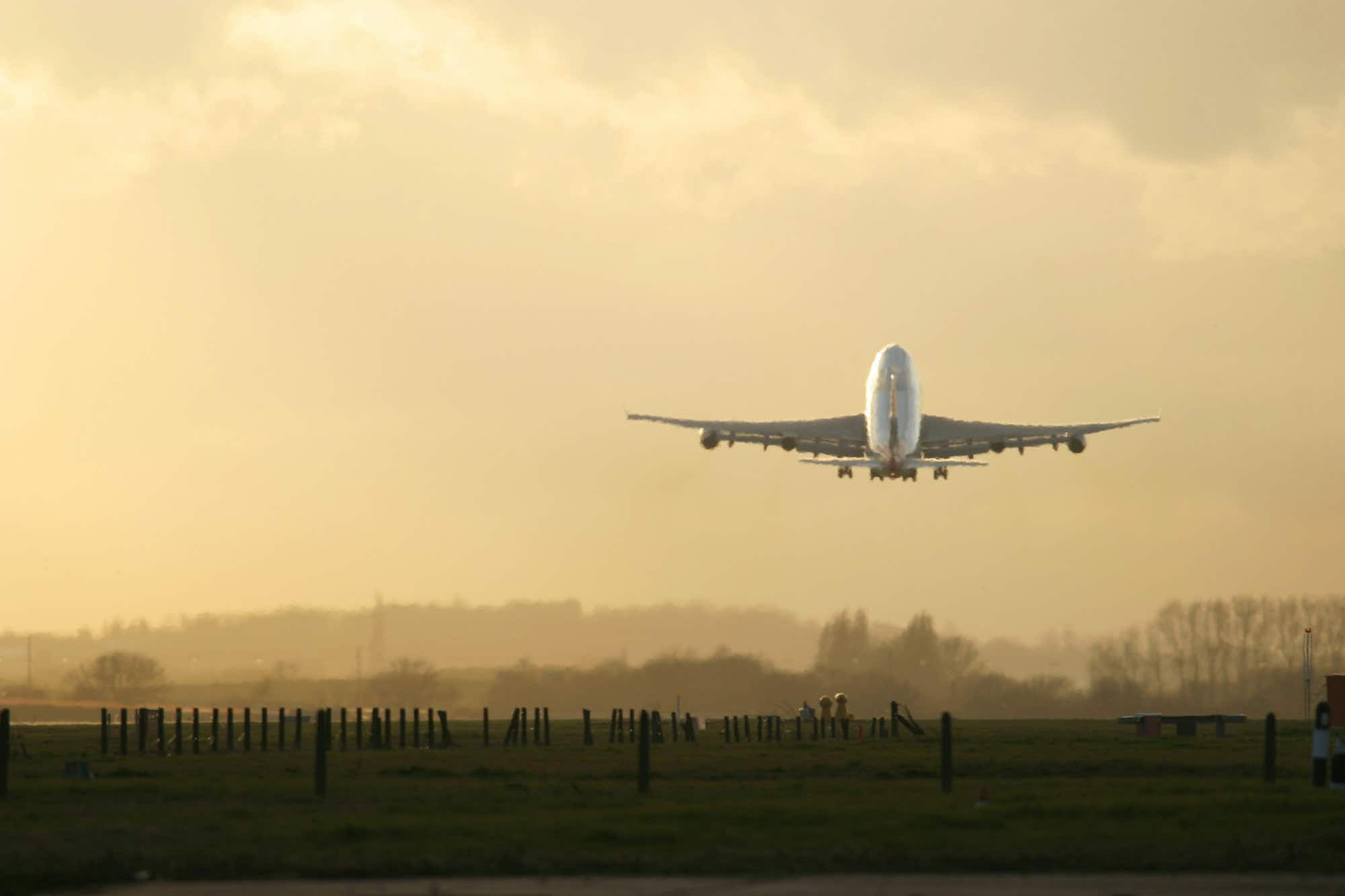 Why do planes leave late yet arrive early?