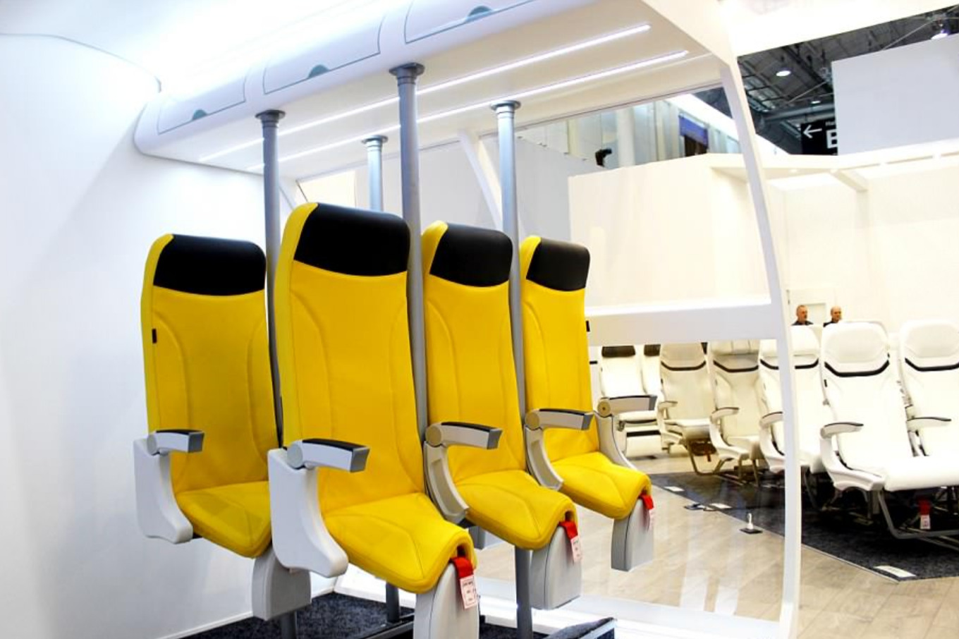 These vertical seats are the latest innovation to increase capacity on airplanes
