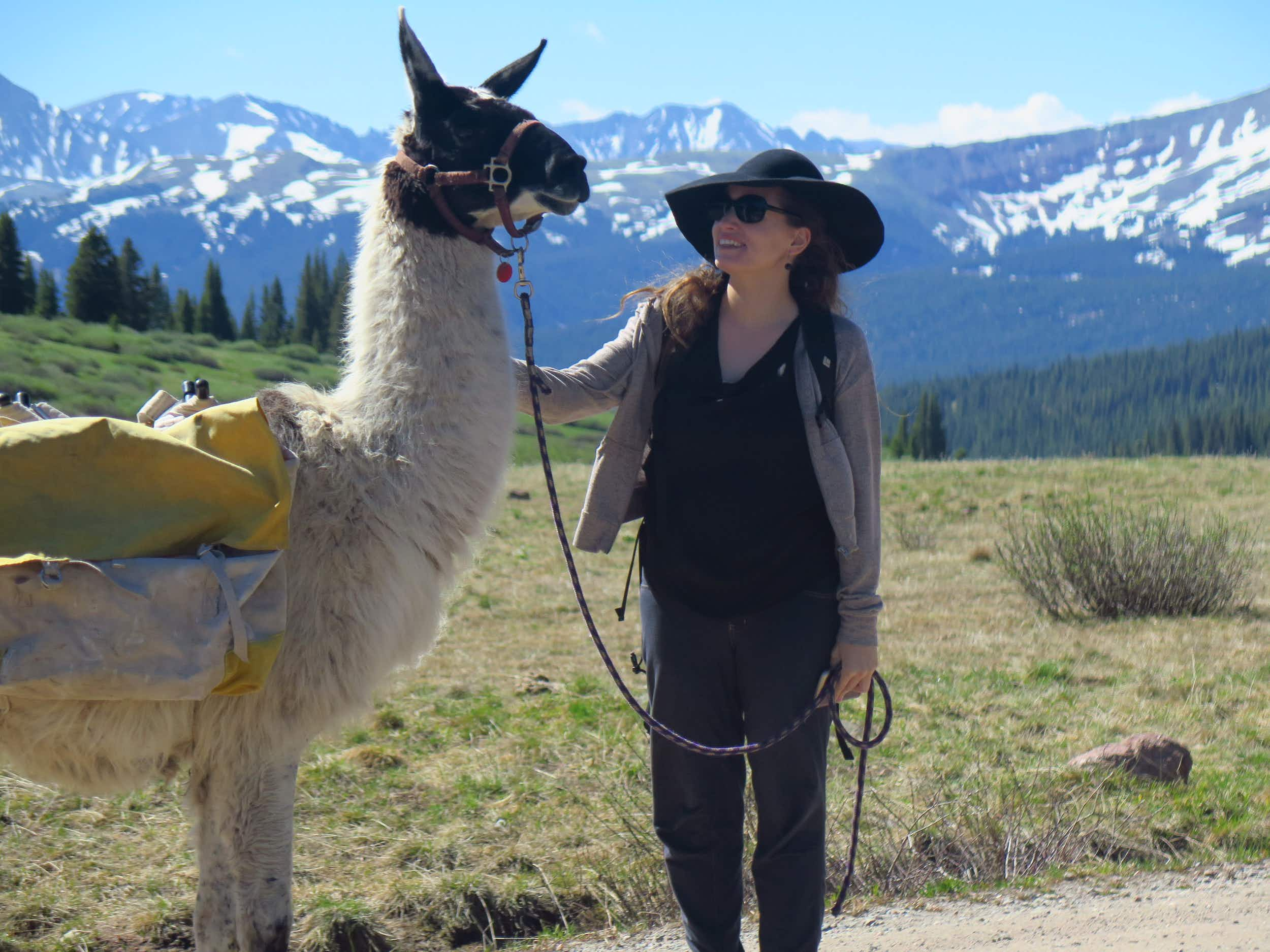 Trek with llamas to a special al fresco lunch at this Colorado retreat