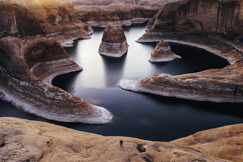 Lake Powell in Utah, USA.
