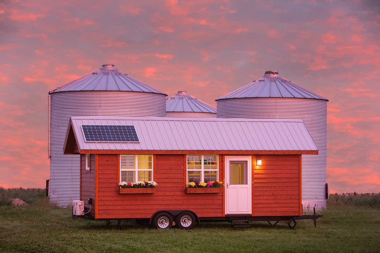 You could travel the US in style in one of these tiny, handcrafted portable homes