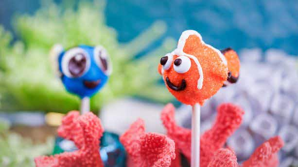 These adorable movie-themed treats are on offer for Disneyland's Pixar Fest