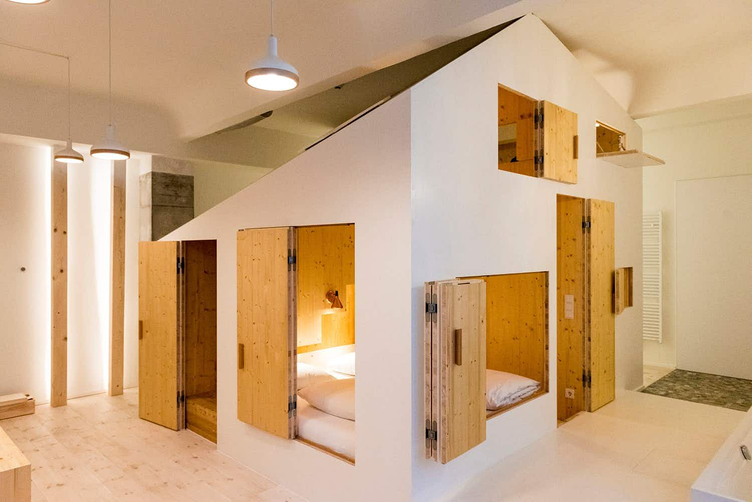 These playful 'Hideout' suites in a hotel in Berlin are the coolest thing
