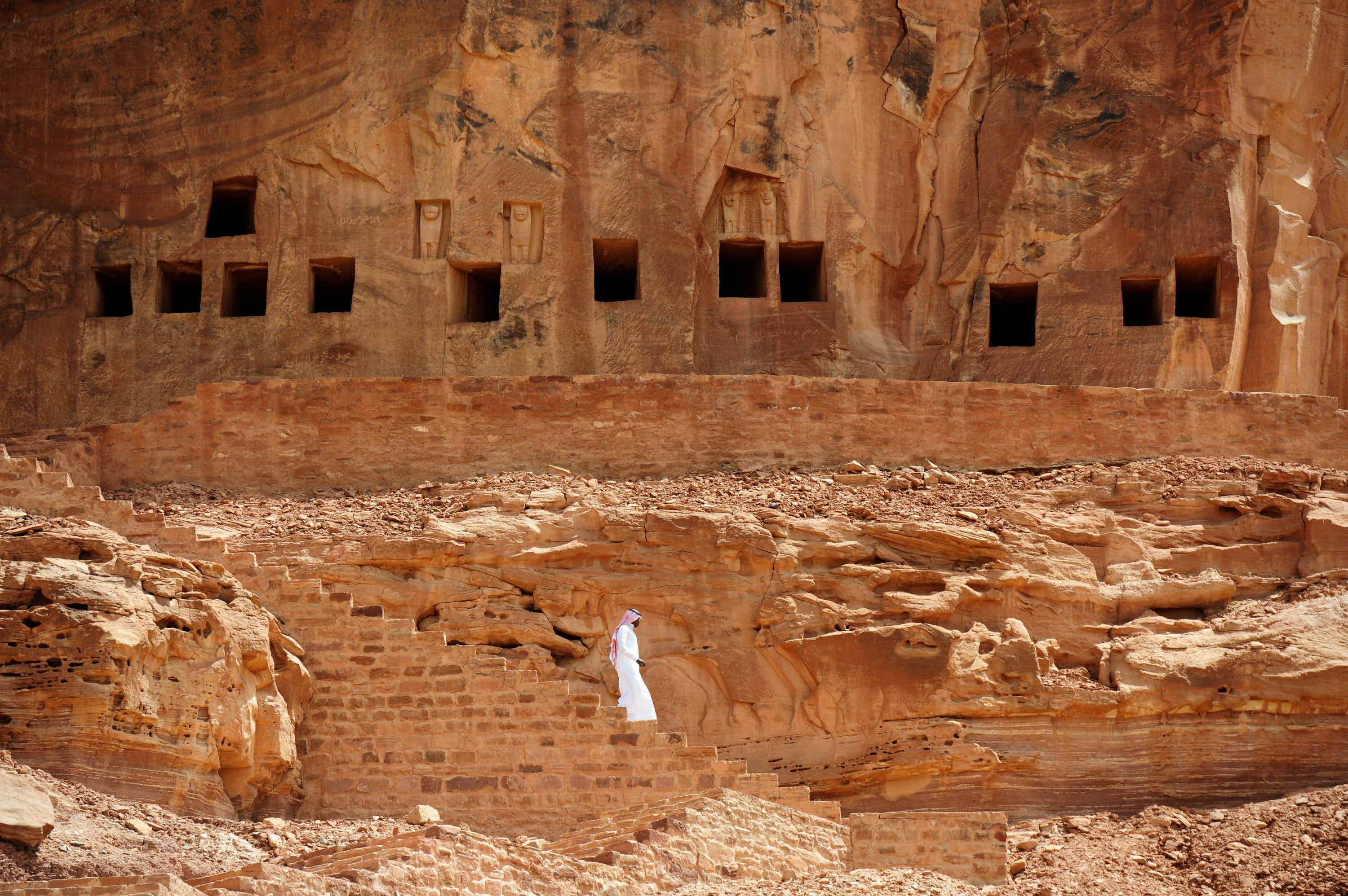 An incredible archaeological site in Saudi Arabia is preparing for tourism