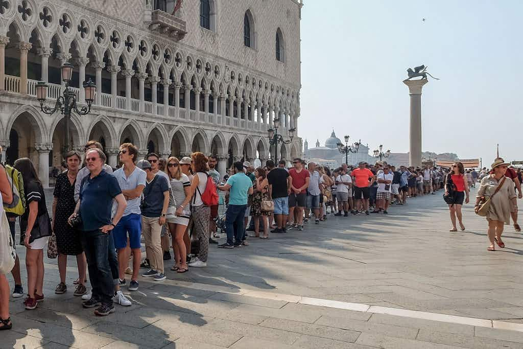 Venice attempts to segregate tourists in the latest move to tackle overcrowding