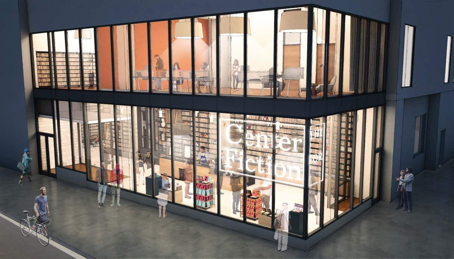 The first centre for fiction in the US will be a haven for book-lovers and writers