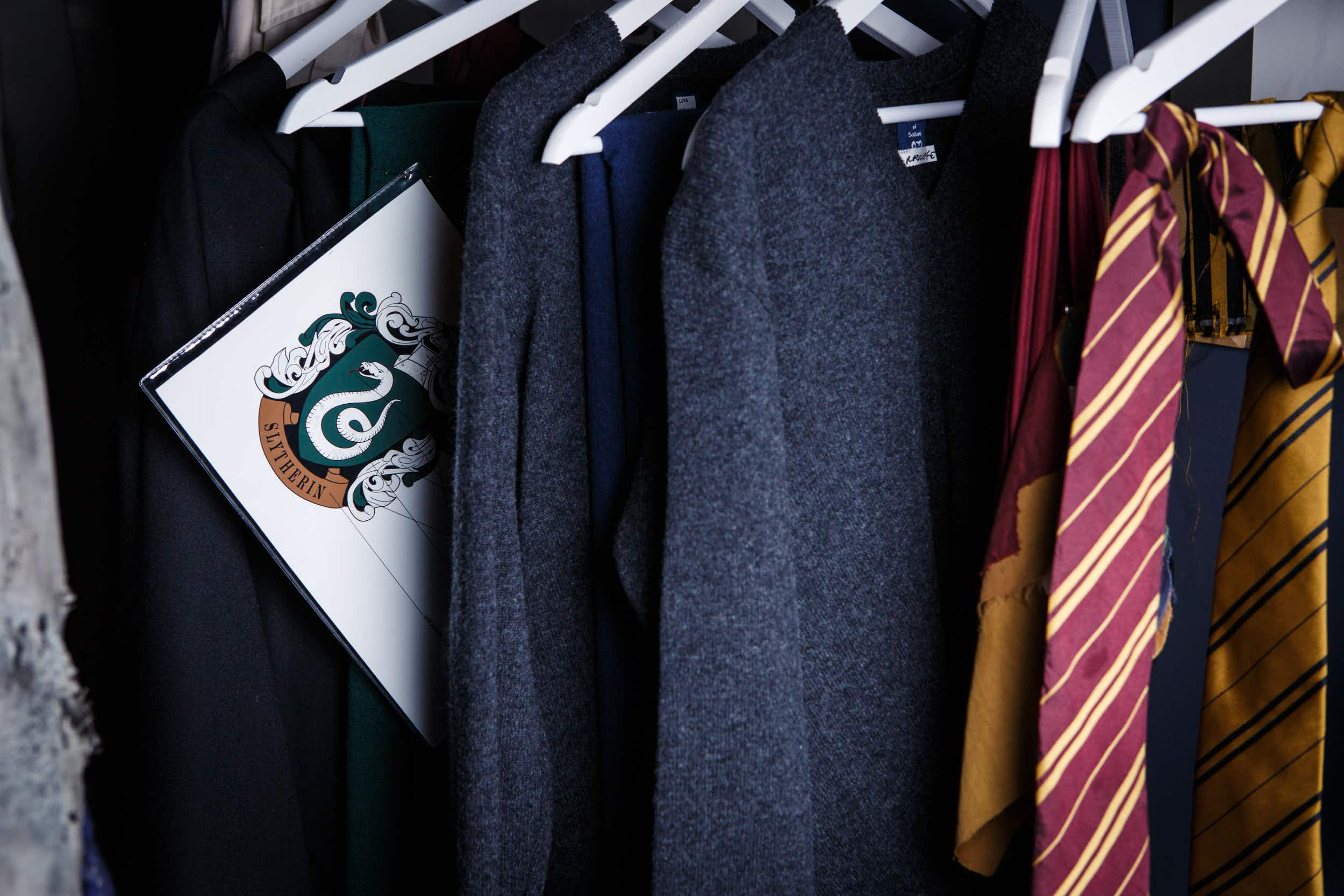 London's Harry Potter tour allows visitors to try on actual costumes from the films