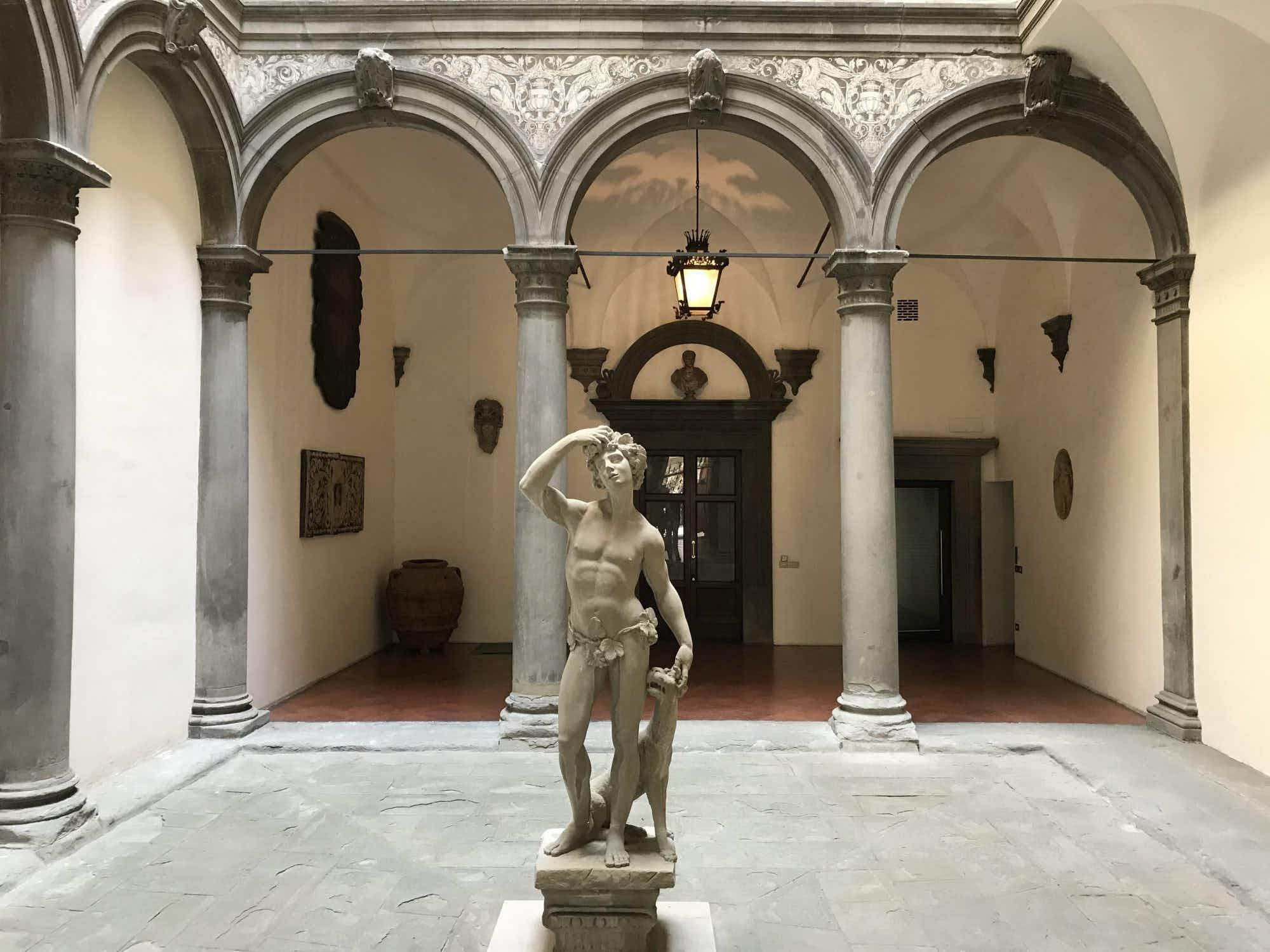 Take a peek at the new contemporary art space in the heart of Florence