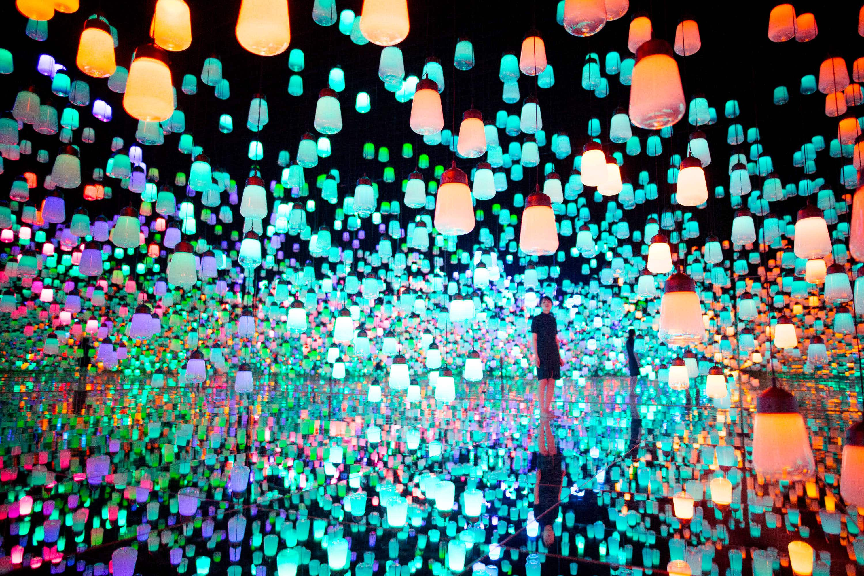 A new art museum in Tokyo will take you through a wonderland of digital art