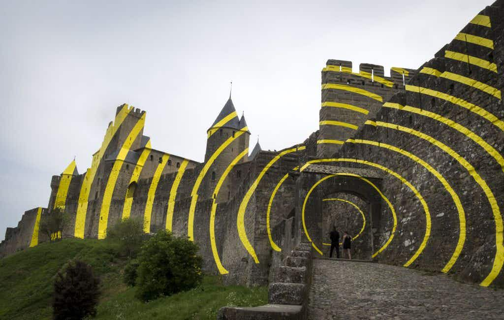 A modern makeover of the historic Carcassonne fortress leaves locals unhappy