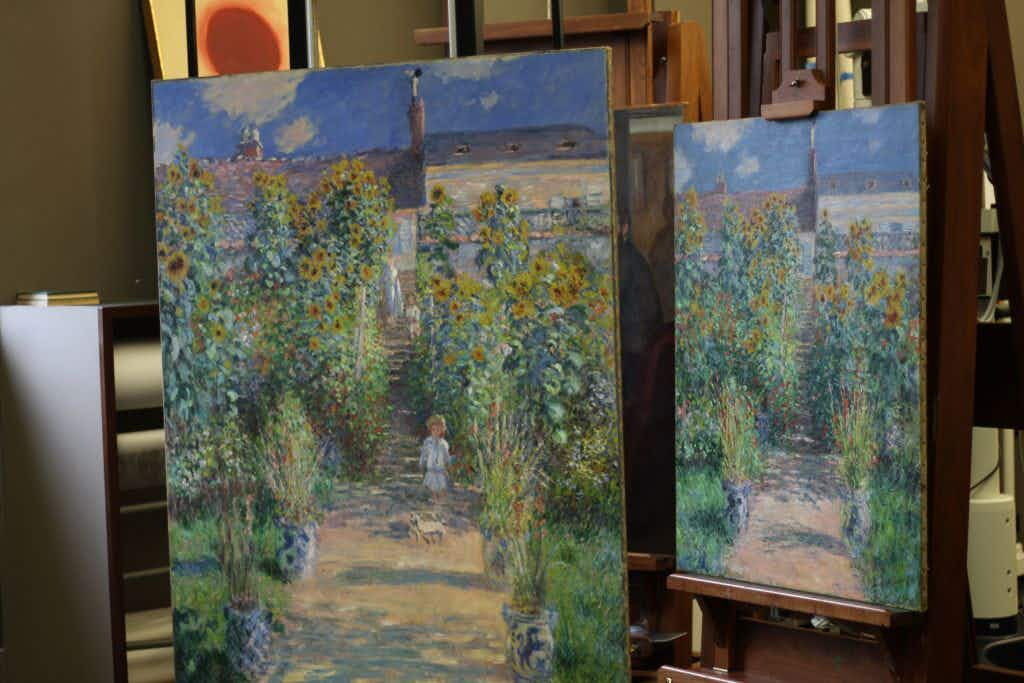 Claude Monet sister paintings reunited in US for first time