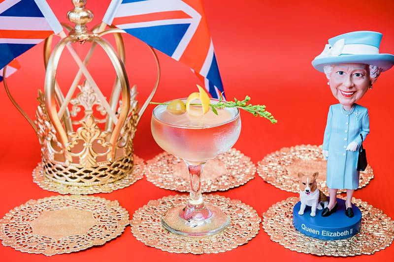 Travel News - 'God Save the Queen' is one of 11 original cocktails at Drink Company's Royal Wedding PUB, running May 4-20. - Photo by Karlin Villondo Photography