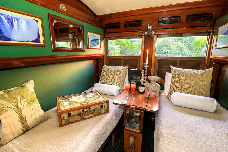 Arrive on safari in style with this new luxury sleeper train that travels through Zimbabwe - Lonely Planet