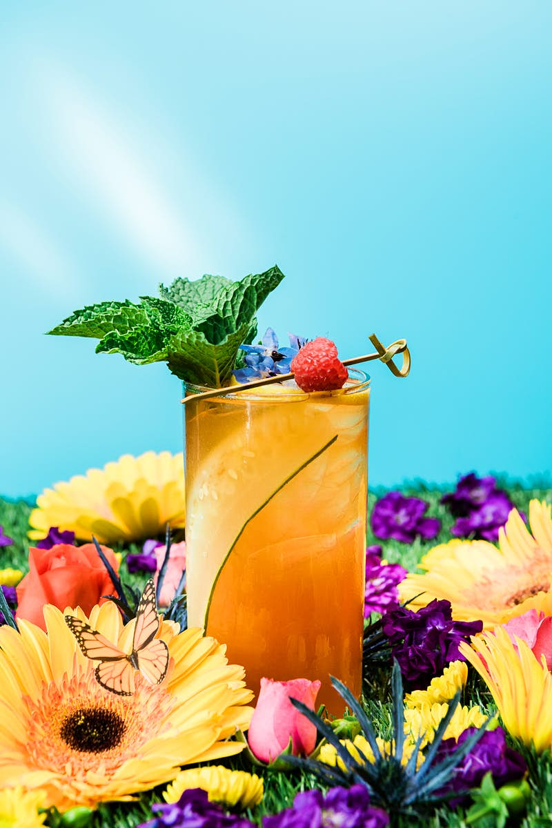 Travel News - 'Kensington Garden Party' is one of 11 original cocktails at Drink Company's Royal Wedding PUB, running May 4-20. - Photo by Karlin Villondo Photography (2)