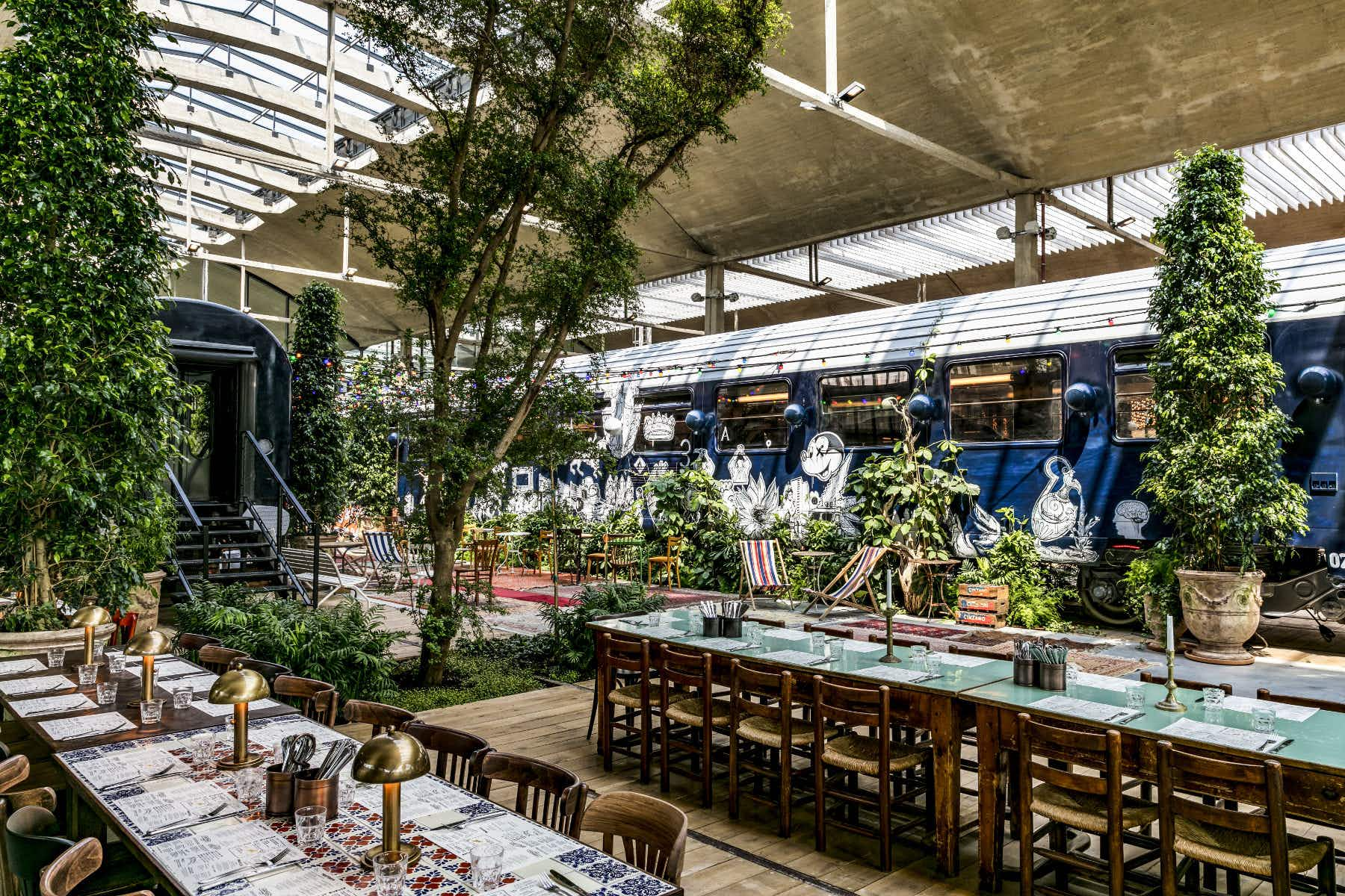 Paris' hippest district is now home to Europe's largest restaurant