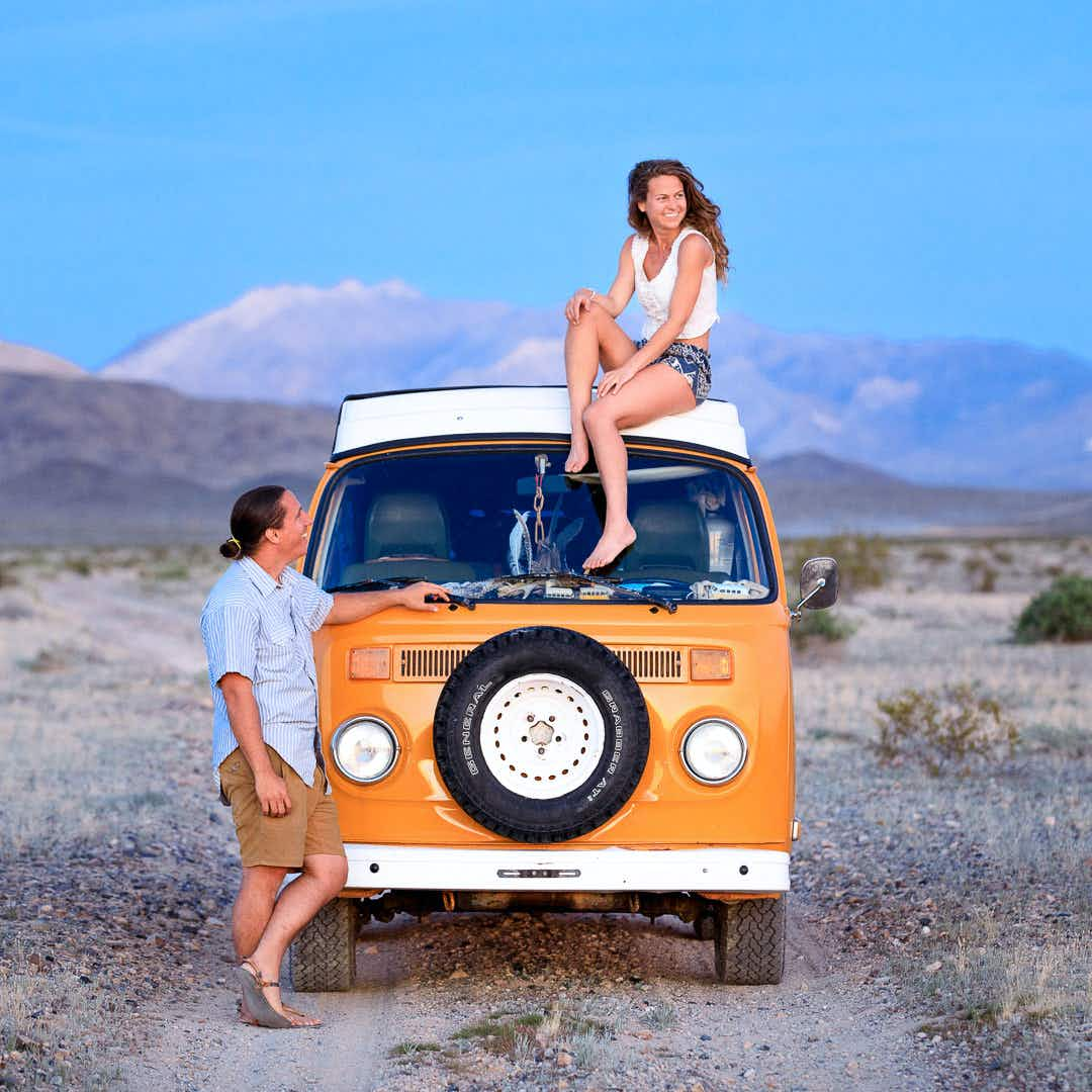 'This is no vacation, this is our life,' the couple  traveling six years in their Sunshine bus