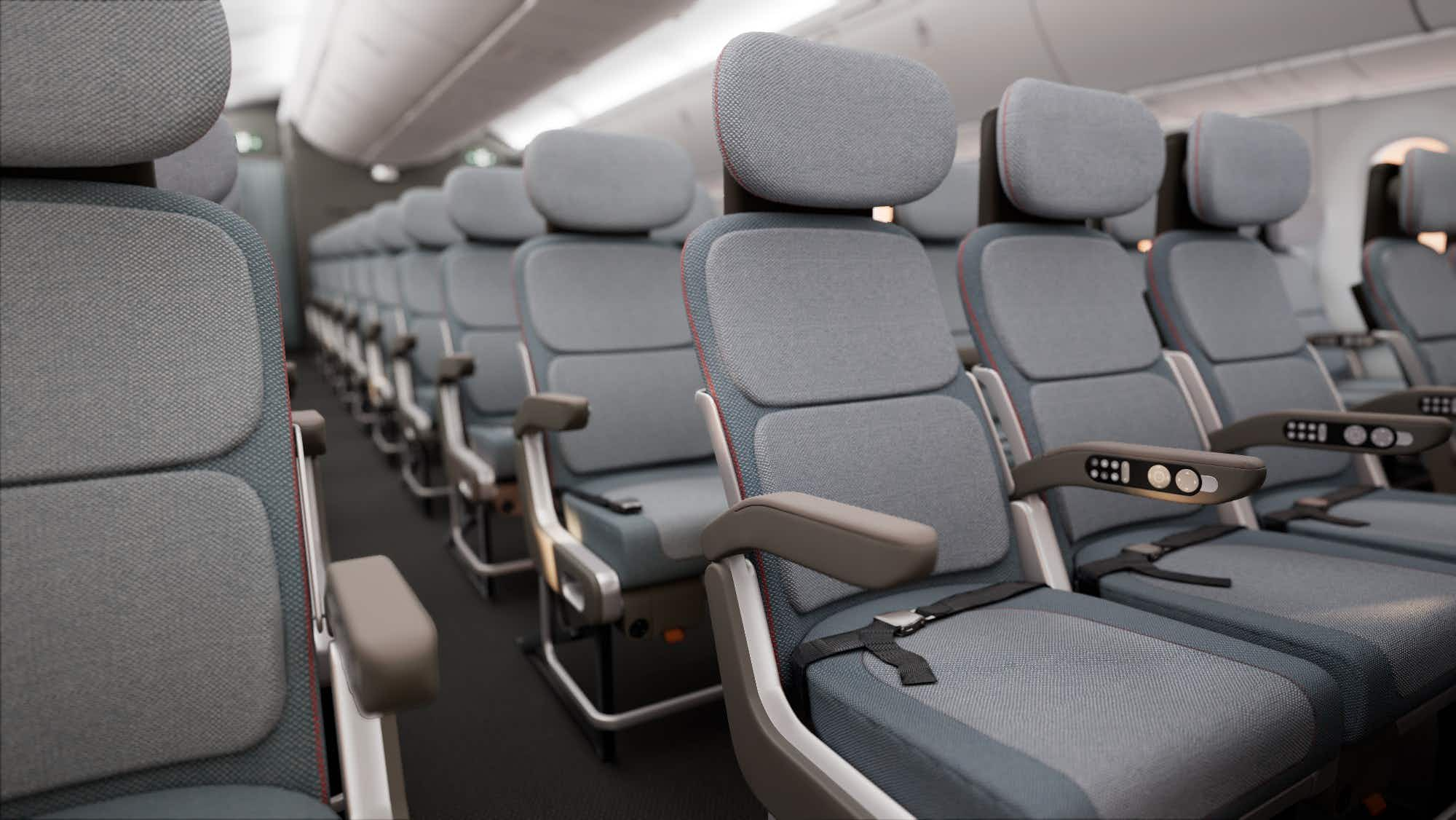 This airline seat could be what tall people have been waiting for