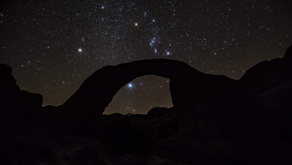 A sacred Navajo site in the US has become an International Dark Sky Sanctuary