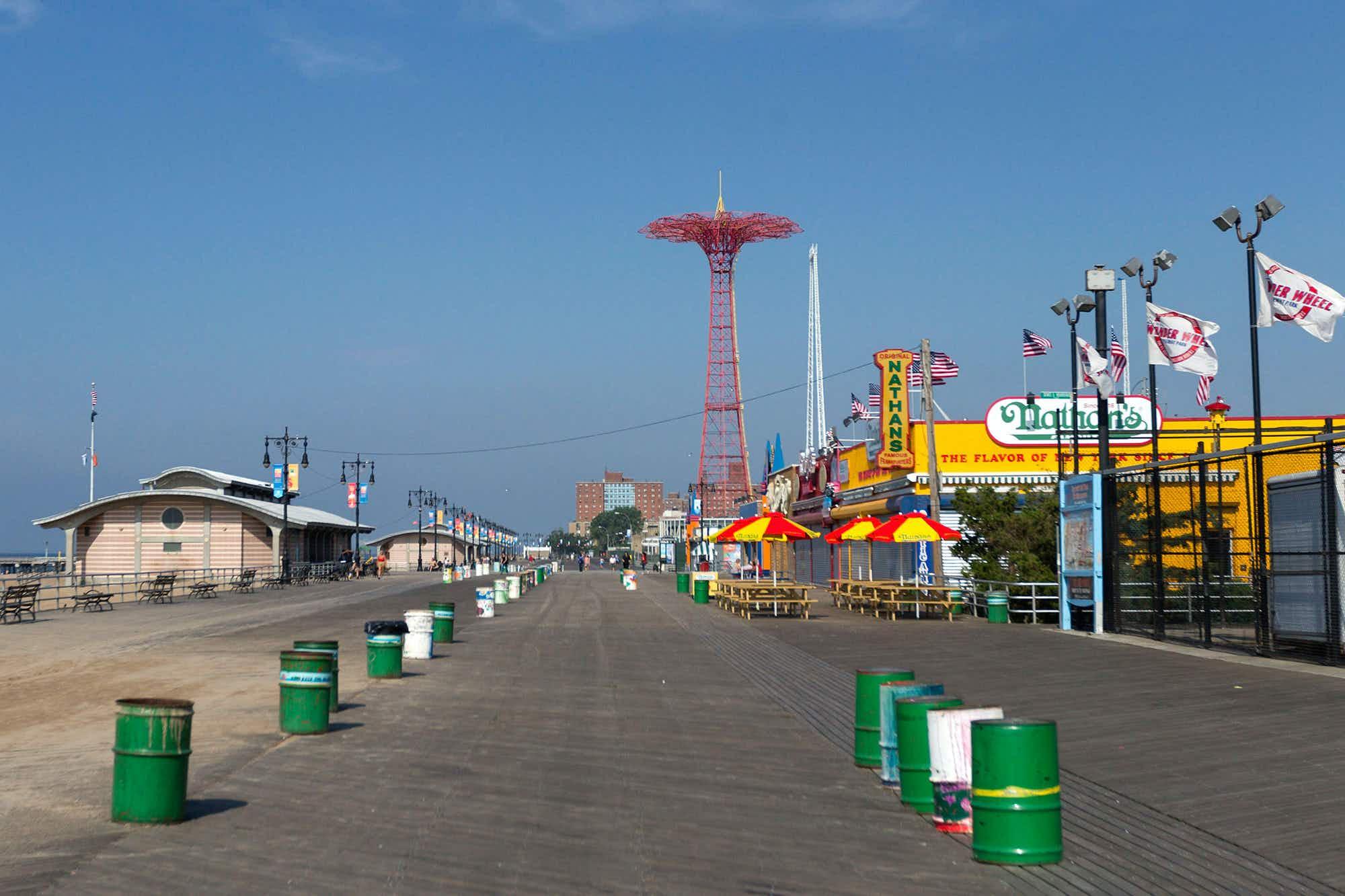 NY's Coney Island Boardwalk now a designated landmark