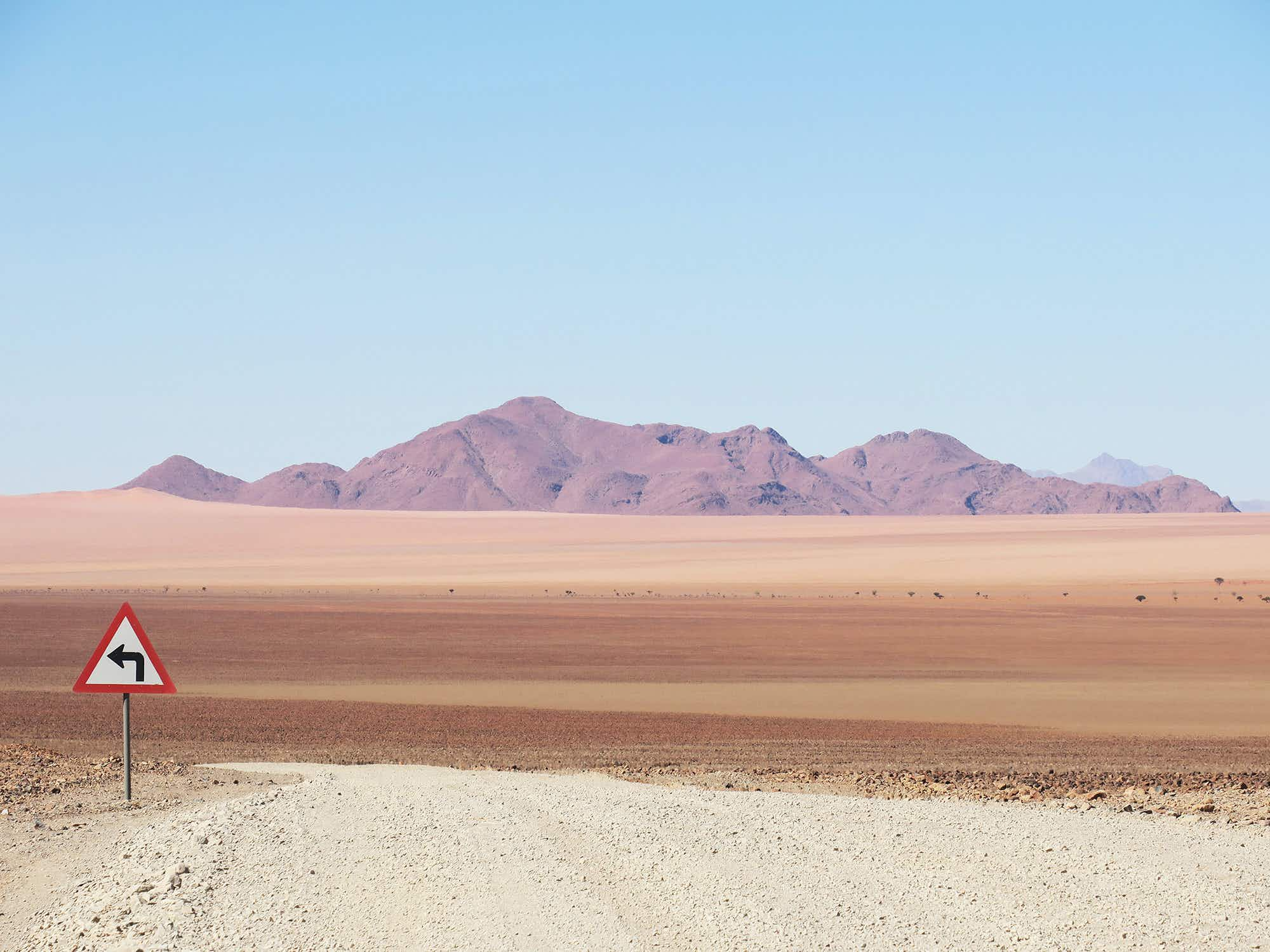 Check out these stunning shots of the Namibian desert's 'lonely signposts'
