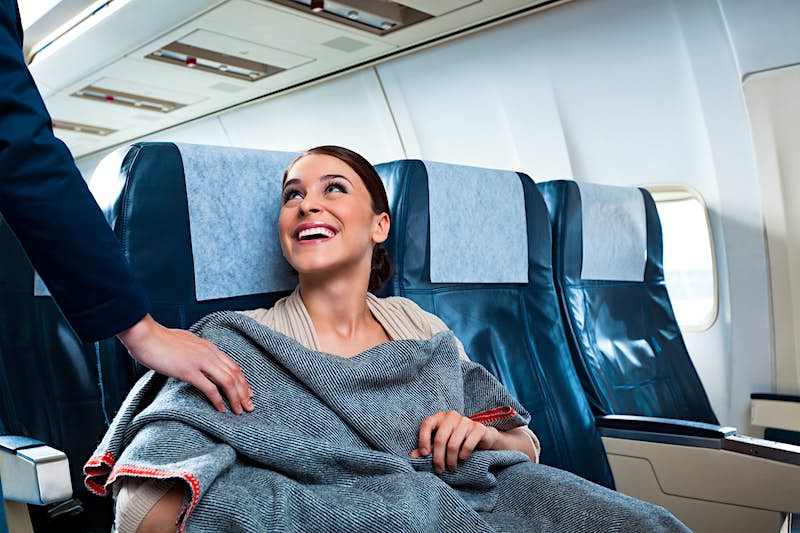 Travel News - On the airplane
