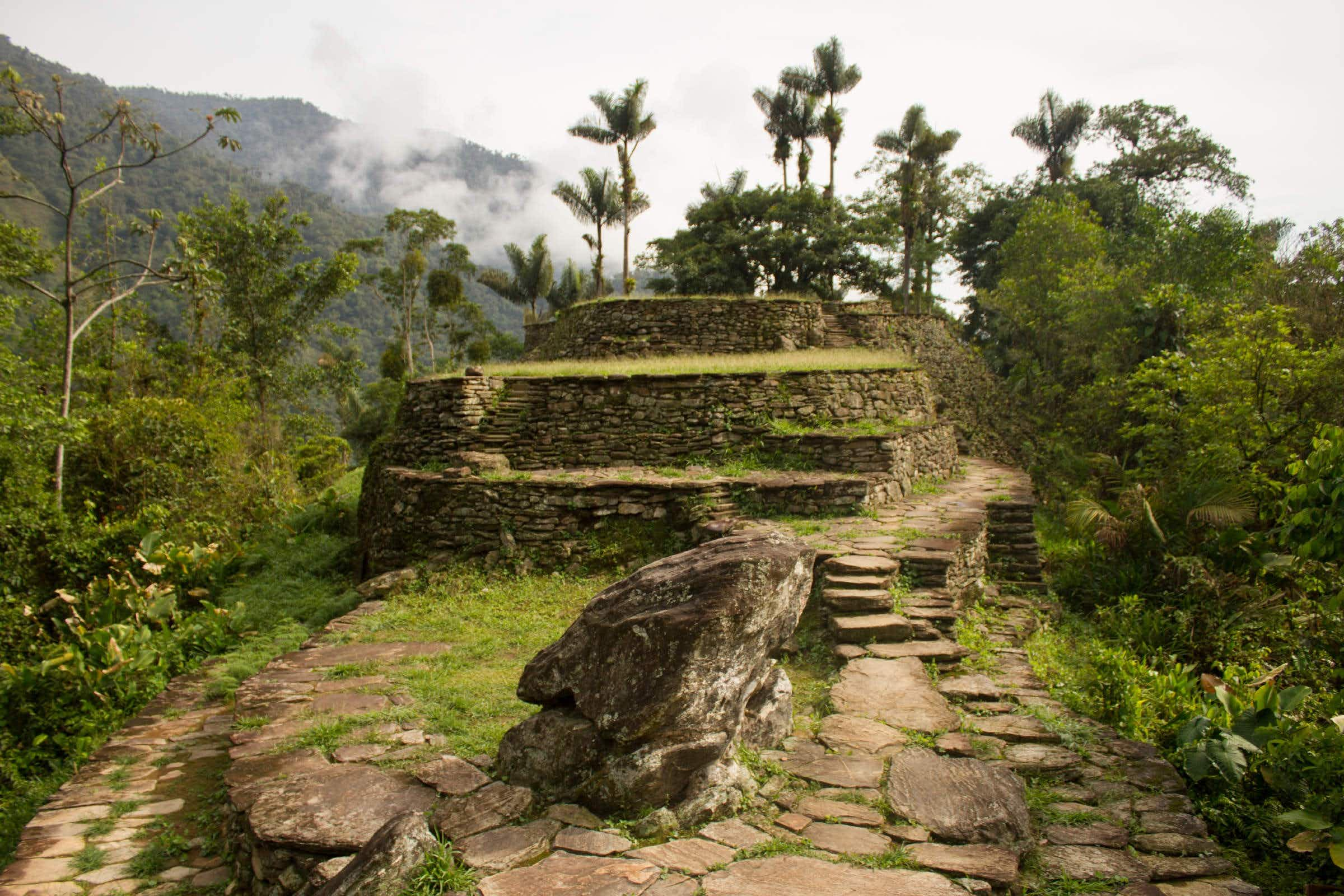 Trek an undiscovered route from Colombia's Lost City with the help of the local community