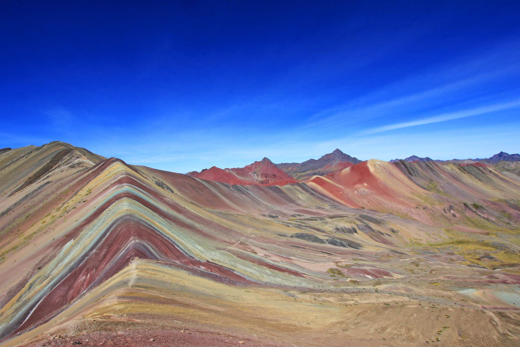 Peru looks to build sustainable tourism at  its stunning Rainbow Mountain