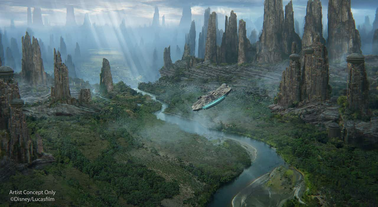 Star Wars lands theme parks opening dates have been announced