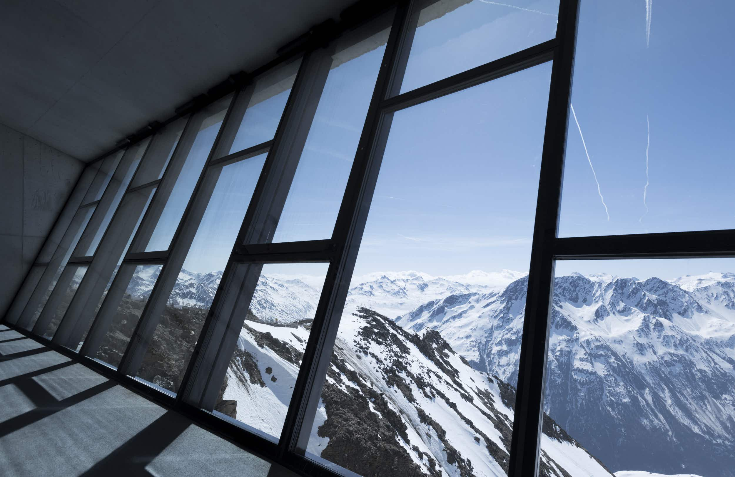 A James Bond museum is set to open inside the summit of a mountain