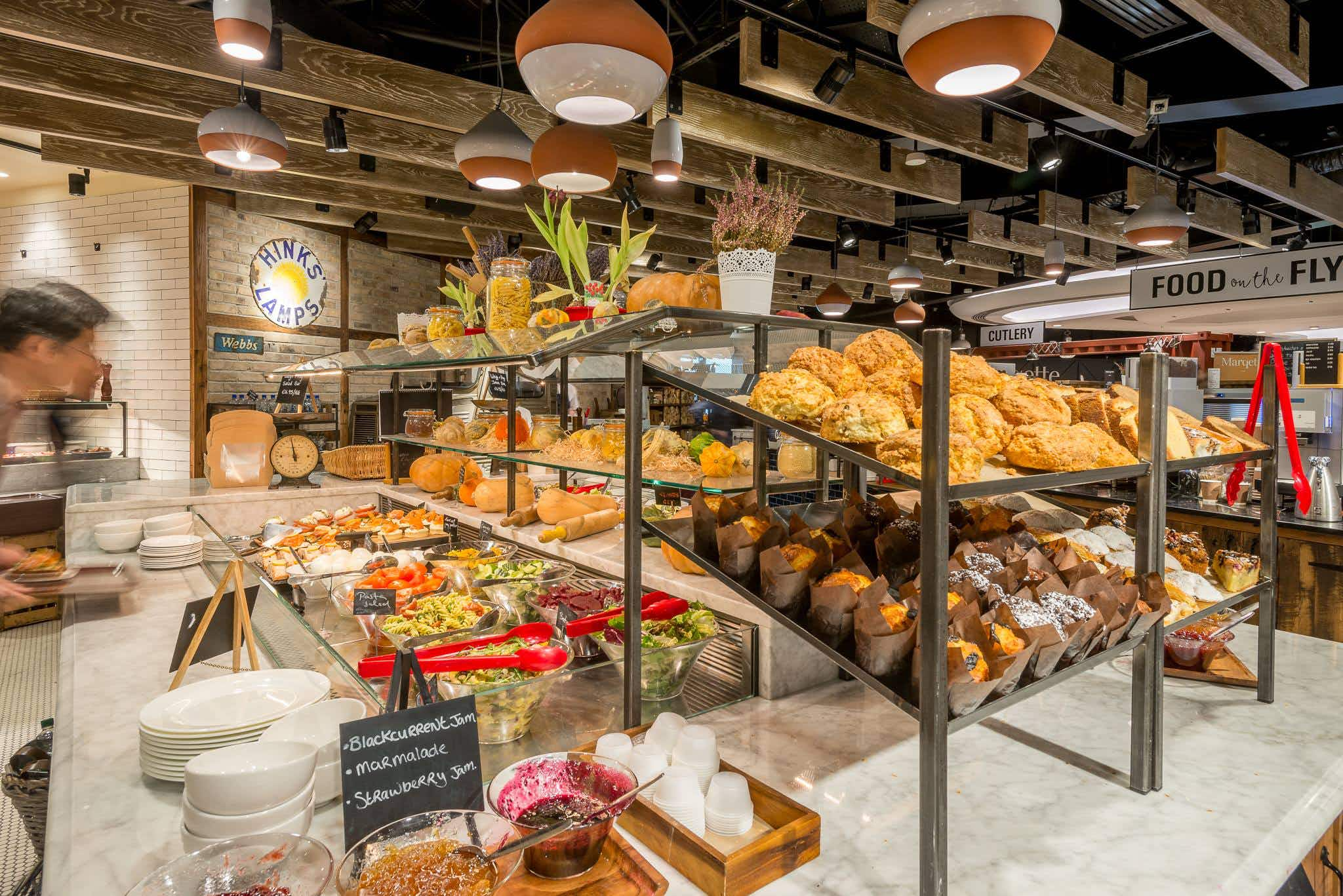 This airport is trialling an honesty-based food and drink outlet for passengers in a hurry
