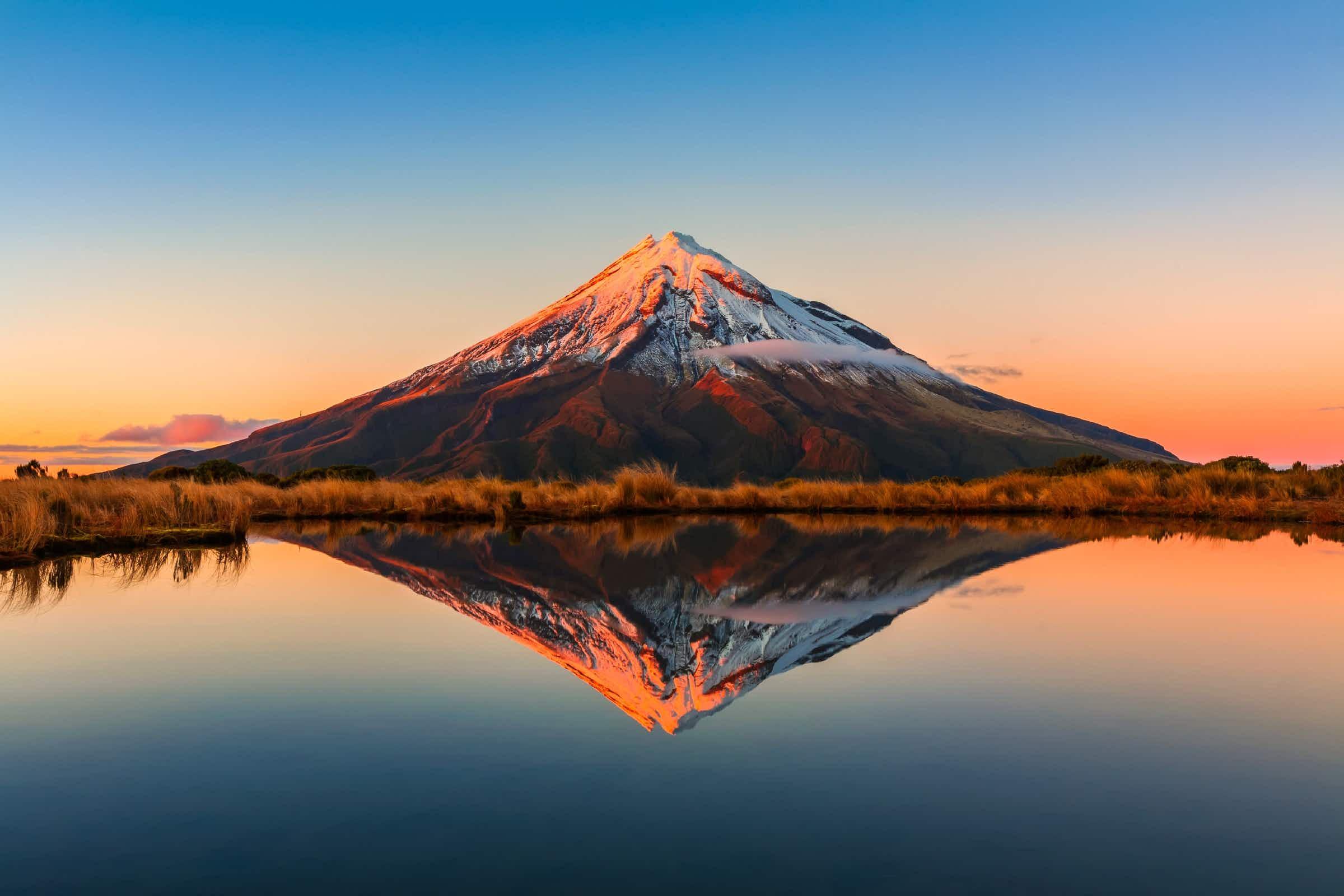 New Zealand's Mount Taranaki granted 'living person' status