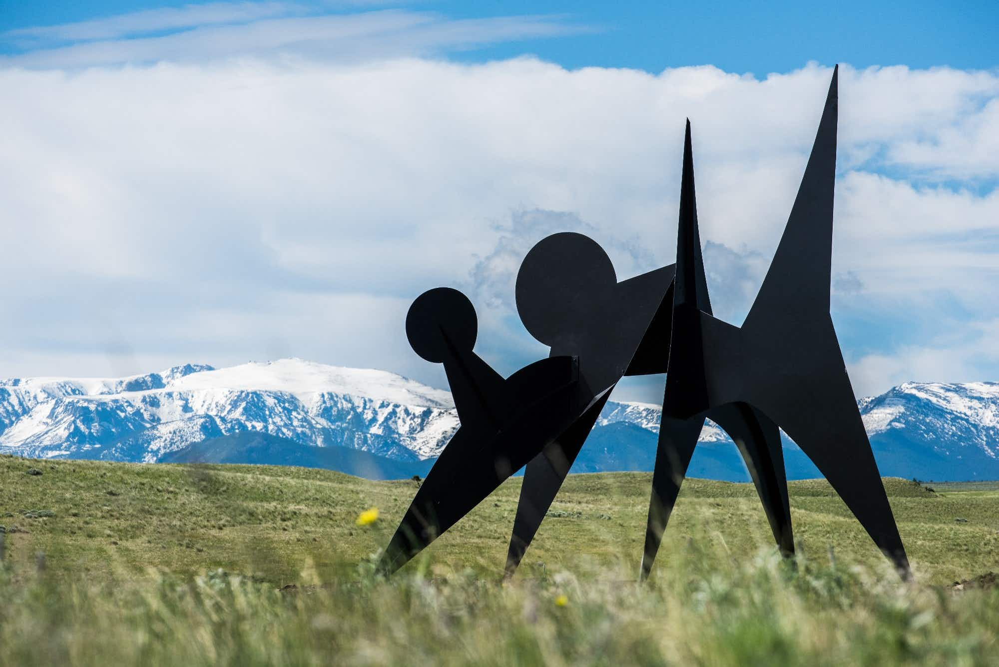You can explore Montana's epic sculpture park through the pages of a new book