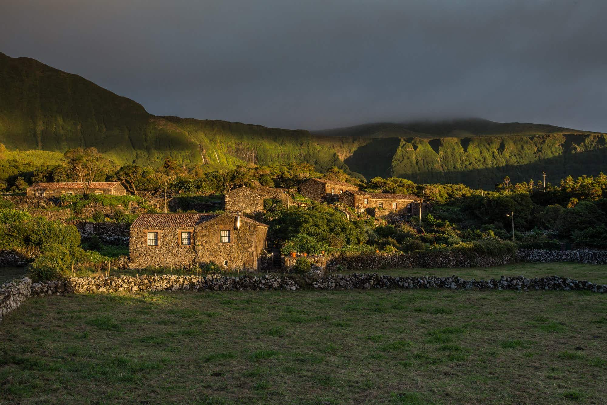 Remote Flores Island's stunning stone cottages win a sustainability award