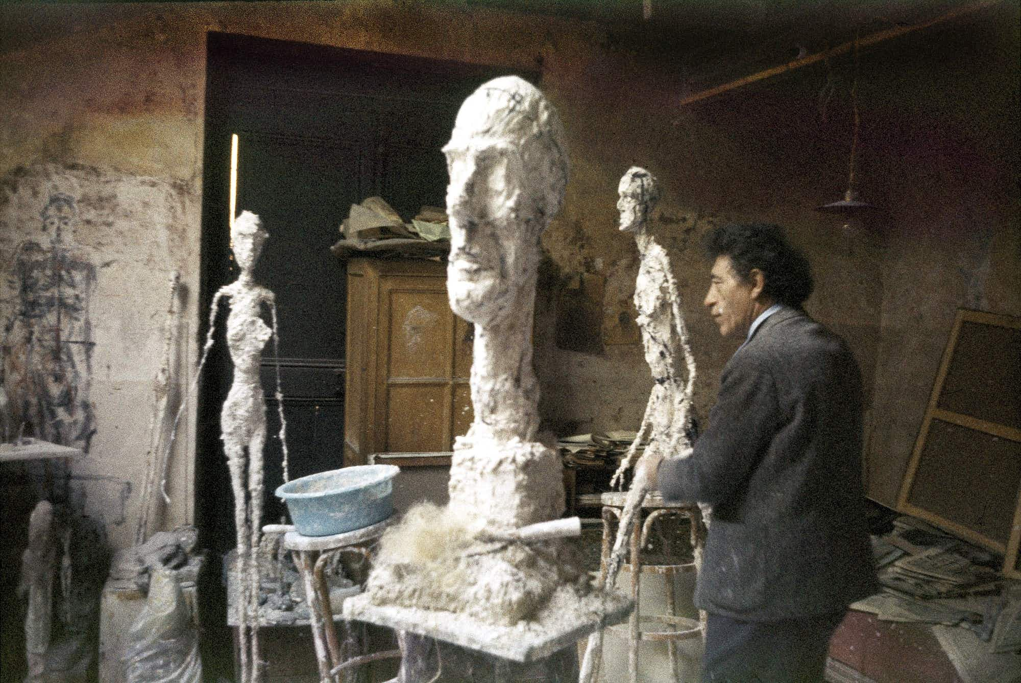 Sculptor Alberto Giacometti is recognised with an institute dedicated to his art in Paris