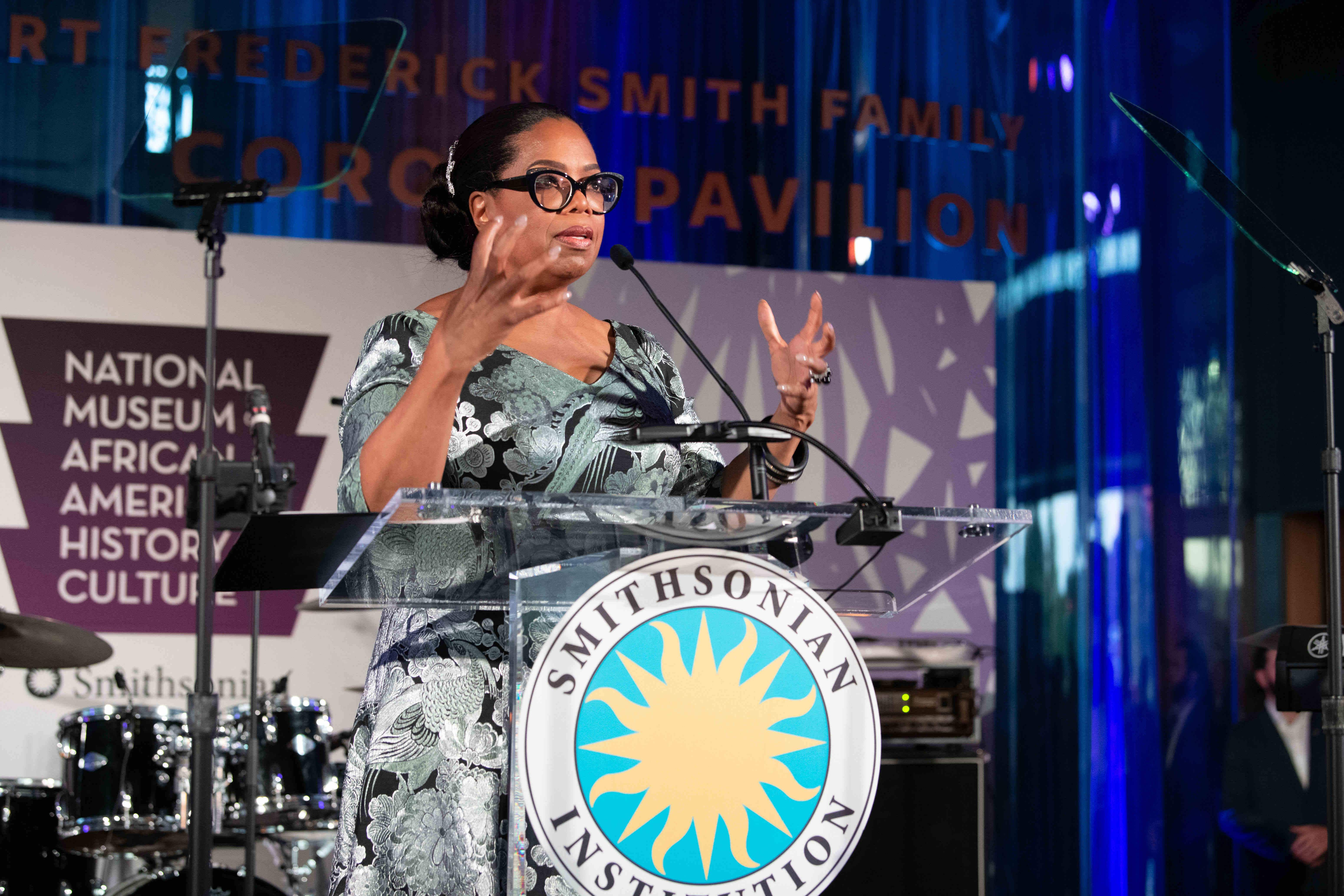 A new Oprah exhibition in Washington explores her life and legacy