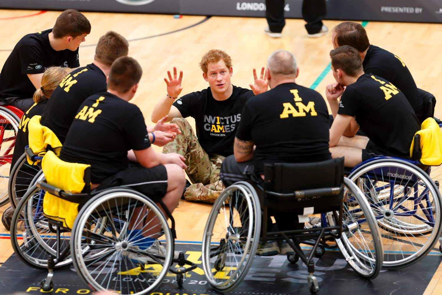 Prince Harry announces the Invictus Games will be held in The Netherlands in 2020