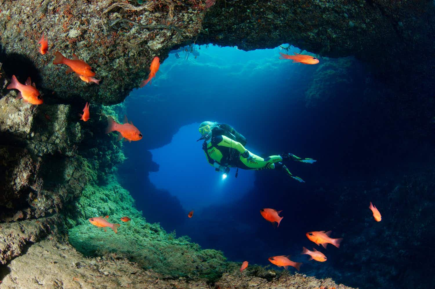 Divers can explore Malta, Gozo and Comino with a new trail
