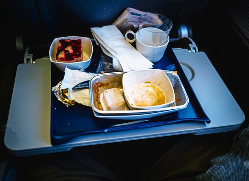 Travel News - Airplane Meal